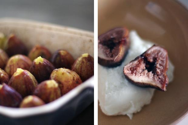 Oven Roast Figs